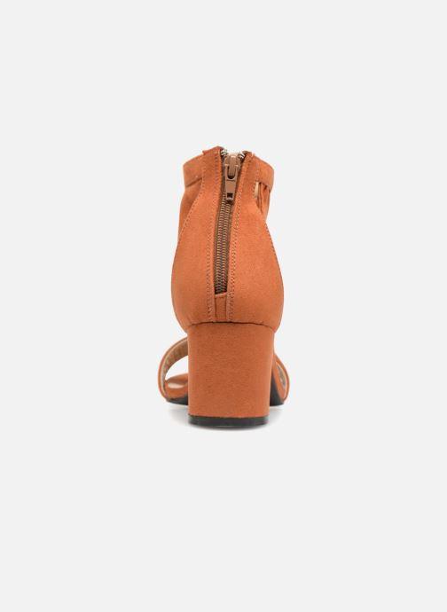 Sandali e scarpe aperte Vero Moda Fab Sandal Marrone immagine destra