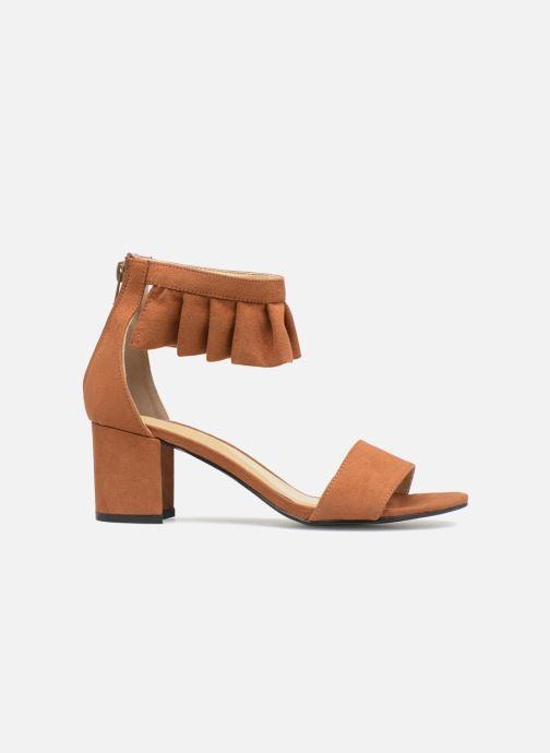 Sandales et nu-pieds Vero Moda Fab Sandal Marron vue derrière