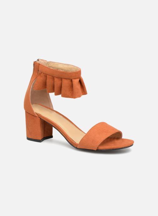 Sandales et nu-pieds Vero Moda Fab Sandal Marron vue détail/paire