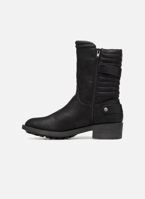 Stivaletti e tronchetti Vanessa Wu Biker Boots Noires Nero immagine frontale