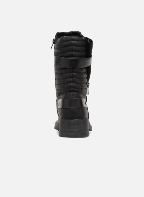 Stivaletti e tronchetti Vanessa Wu Biker Boots Noires Nero immagine destra