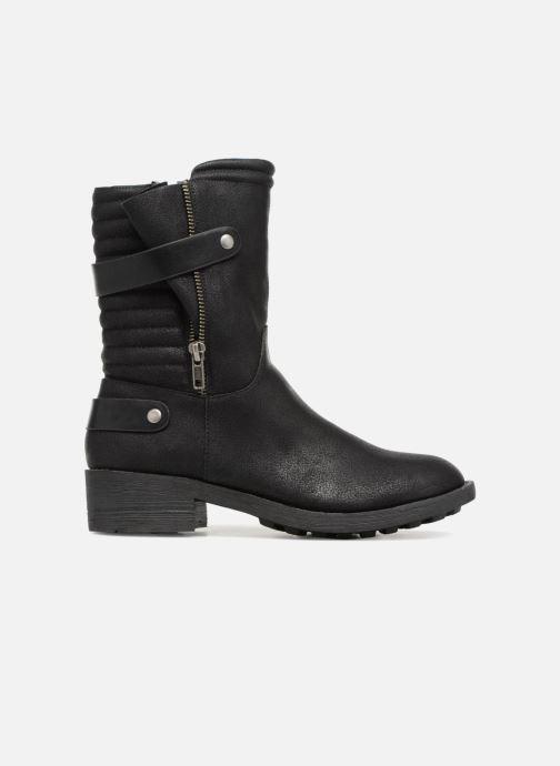 Stivaletti e tronchetti Vanessa Wu Biker Boots Noires Nero immagine posteriore