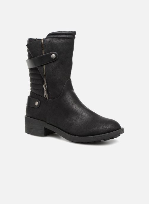 Stivaletti e tronchetti Vanessa Wu Biker Boots Noires Nero vedi dettaglio/paio