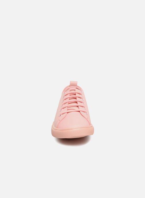Sneaker Vanessa Wu Tennis Rose rosa schuhe getragen
