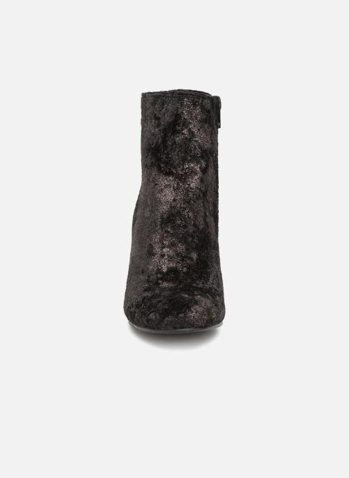Bottines et boots Vanessa Wu Bottines Anthracite Gris vue portées chaussures