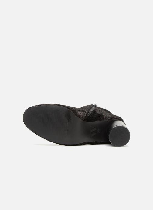 Bottines et boots Vanessa Wu Bottines Anthracite Gris vue haut