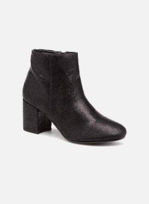 f599f819917471 Vanessa Wu Bottines à Talons Noires (Zwart) - Boots en enkellaarsjes ...