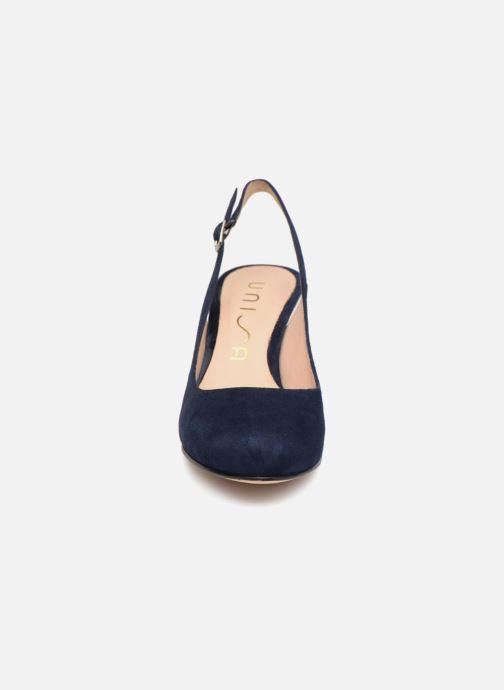 Sandales et nu-pieds Unisa NUCLEO Bleu vue portées chaussures