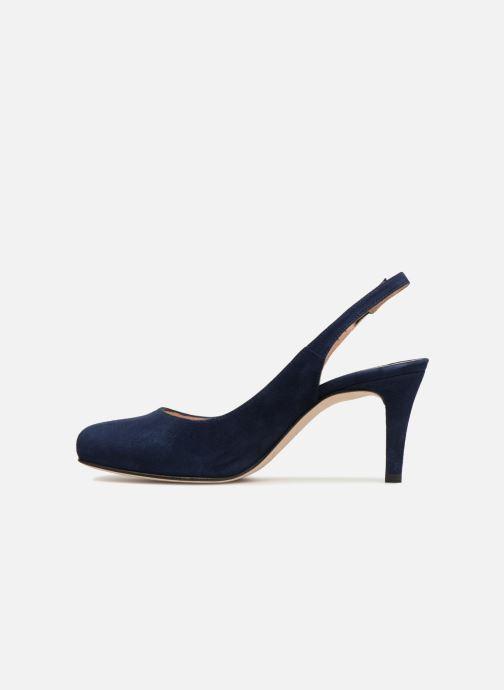 Sandales et nu-pieds Unisa NUCLEO Bleu vue face