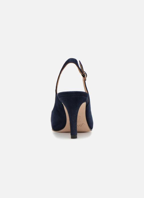 Sandales et nu-pieds Unisa NUCLEO Bleu vue droite