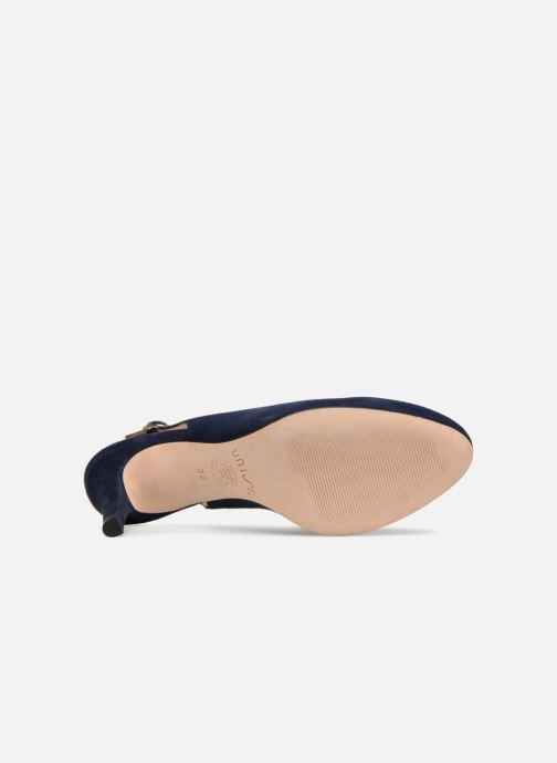 Sandales et nu-pieds Unisa NUCLEO Bleu vue haut