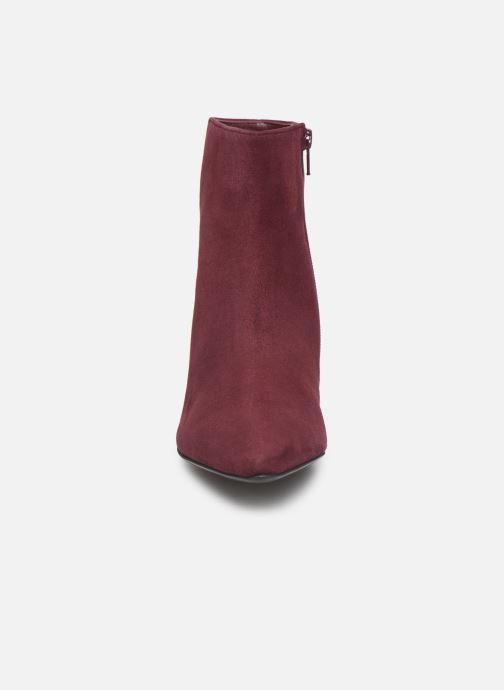Bottines et boots HÖGL Publicity Bordeaux vue portées chaussures