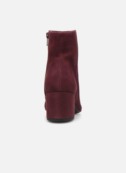 Bottines et boots HÖGL Publicity Bordeaux vue droite