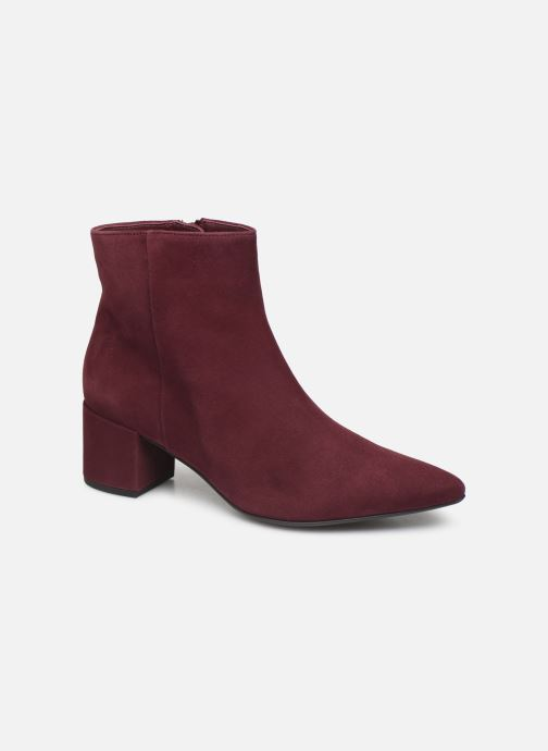Bottines et boots HÖGL Publicity Bordeaux vue détail/paire