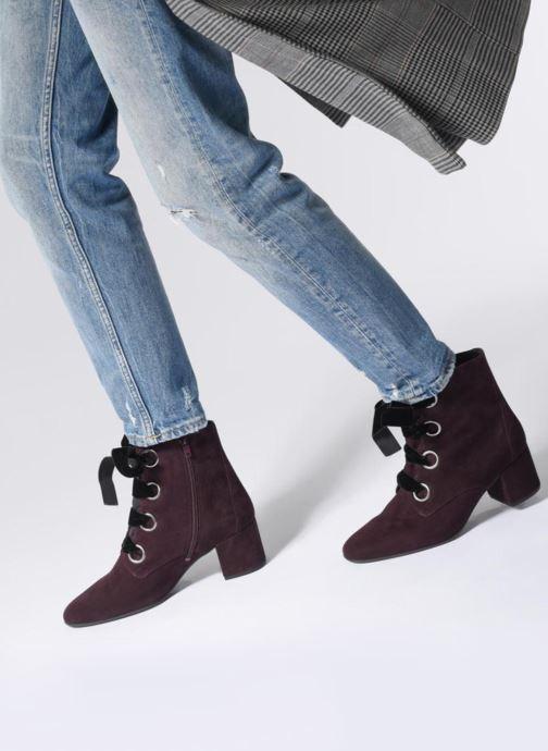 Bottines et boots HÖGL Francoise Violet vue bas / vue portée sac