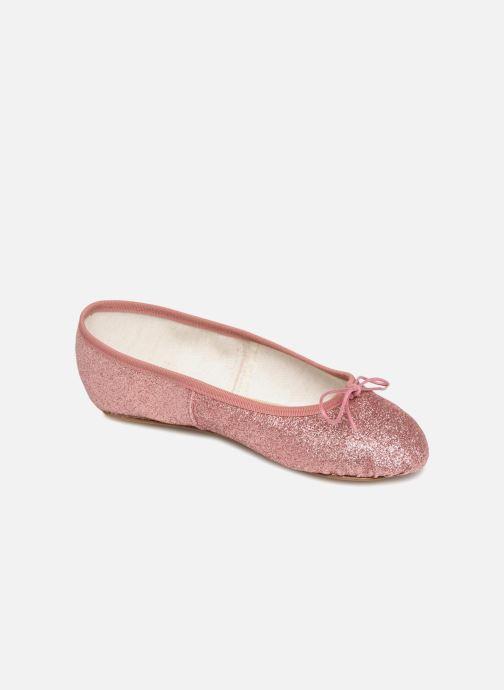 Bailarinas Anniel 1797 LAMF Rosa vista de detalle / par