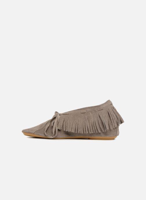 Chaussures à lacets Anniel 1867 CACL Gris vue face