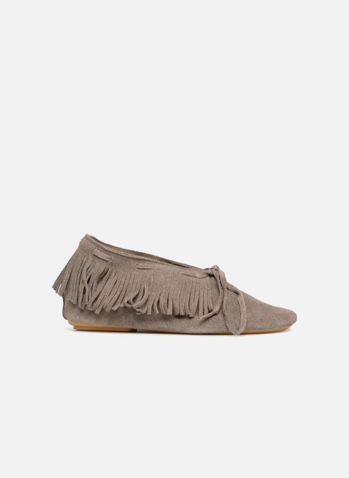 Chaussures à lacets Anniel 1867 CACL Gris vue derrière