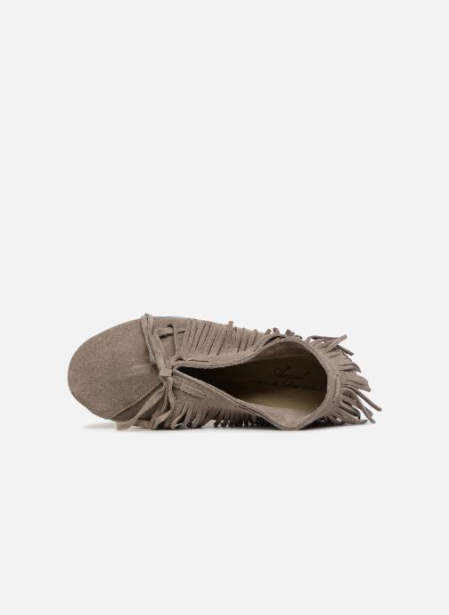 Scarpe con lacci Anniel 1867 CACL Grigio immagine sinistra
