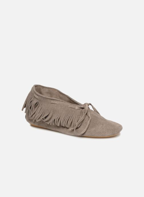 Chaussures à lacets Anniel 1867 CACL Gris vue détail/paire