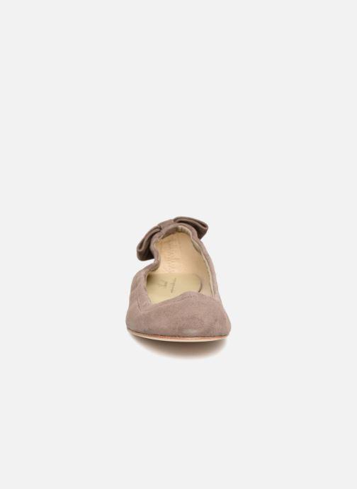 Ballerines Anniel 1710 CAMS Gris vue portées chaussures