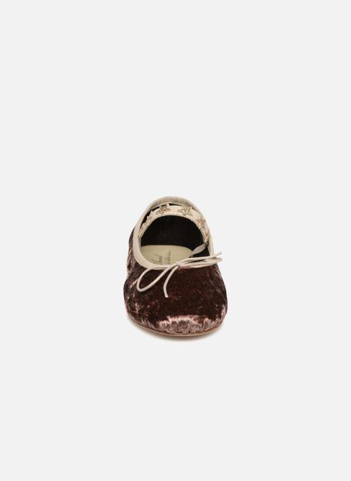 Ballerines Anniel 1934 VELN+CS Beige vue portées chaussures