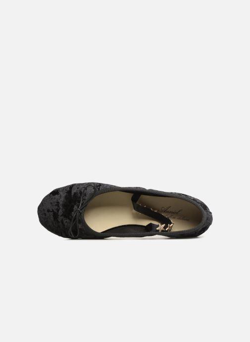 Ballerines Anniel 1934 VELN+CS Noir vue gauche