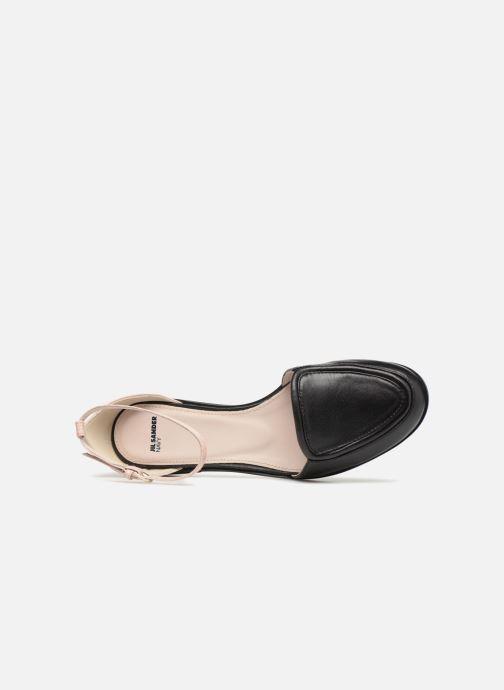 Sandales et nu-pieds Jil Sander Navy JN28023 Noir vue gauche