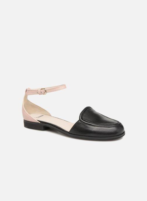 Sandales et nu-pieds Jil Sander Navy JN28023 Noir vue détail/paire