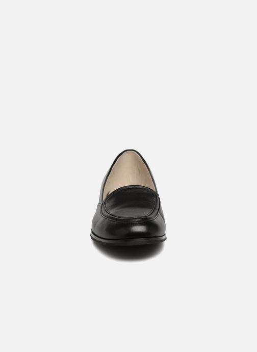 Mocassins Jil Sander Navy JN28024 Noir vue portées chaussures