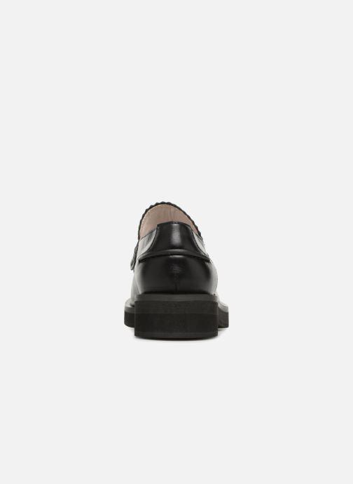 Mocassins Jil Sander Navy JN26025 Noir vue droite