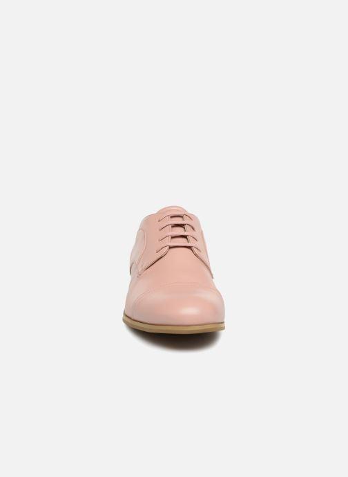 Chaussures à lacets Jil Sander Navy JN28089 Rose vue portées chaussures