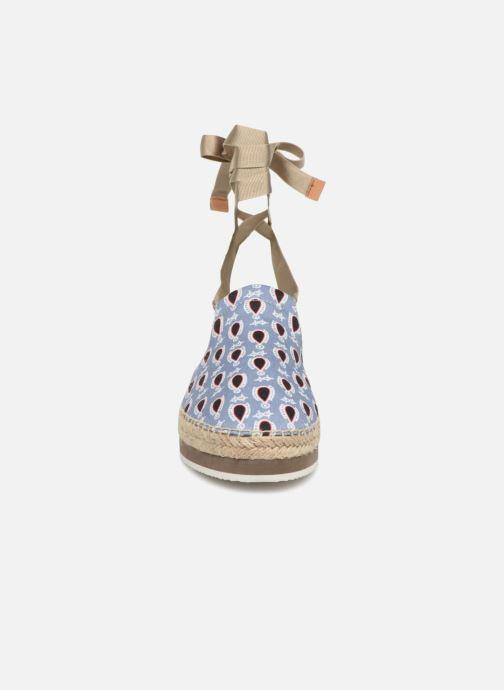 Espadrilles Jil Sander Navy JN28100 Multicolore vue portées chaussures
