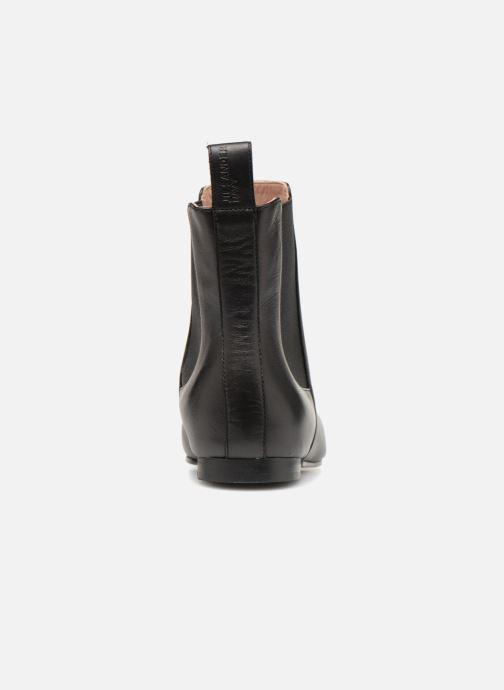 Bottines et boots Jil Sander Navy JN29070 Noir vue droite