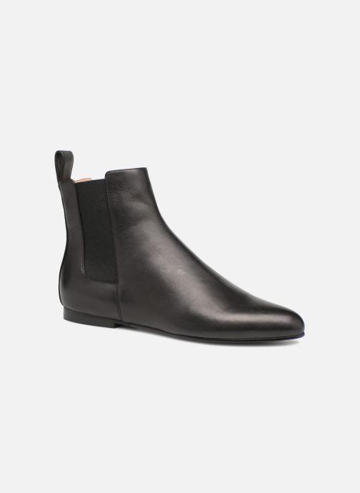 Bottines et boots Jil Sander Navy JN29070 Noir vue détail/paire
