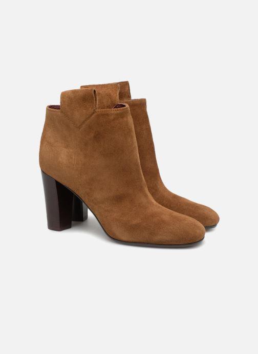 Bottines et boots Avril Gau Chic Marron vue 3/4