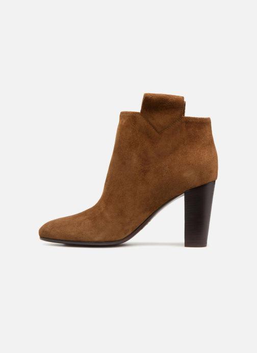Bottines et boots Avril Gau Chic Marron vue face
