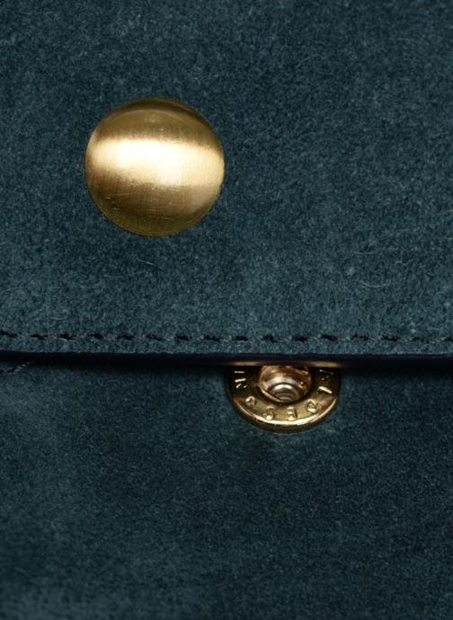 Bolsos de mano Avril Gau Paul C8 Azul vista lateral izquierda