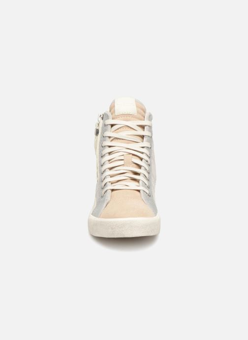 Baskets Diesel Velows Blanc vue portées chaussures