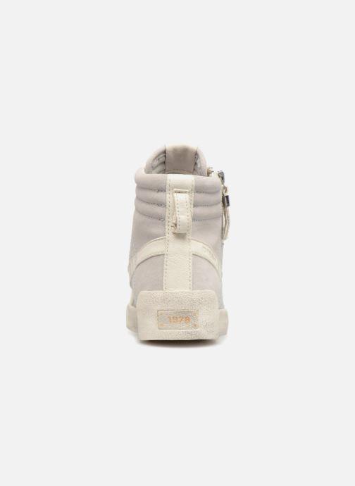 Baskets Diesel Velows Blanc vue droite