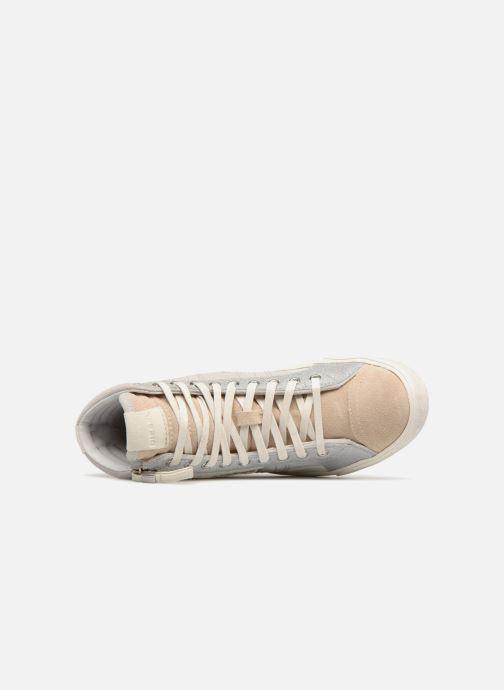 Baskets Diesel Velows Blanc vue gauche