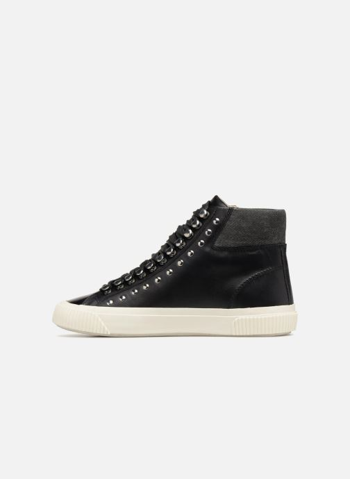 Trainers Diesel Mustave Black front view
