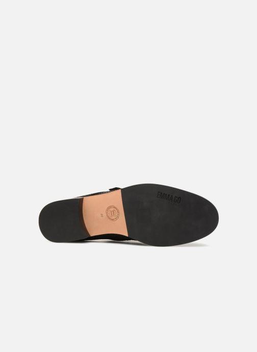 Chaussures à lacets Emma Go PERKINS Noir vue haut
