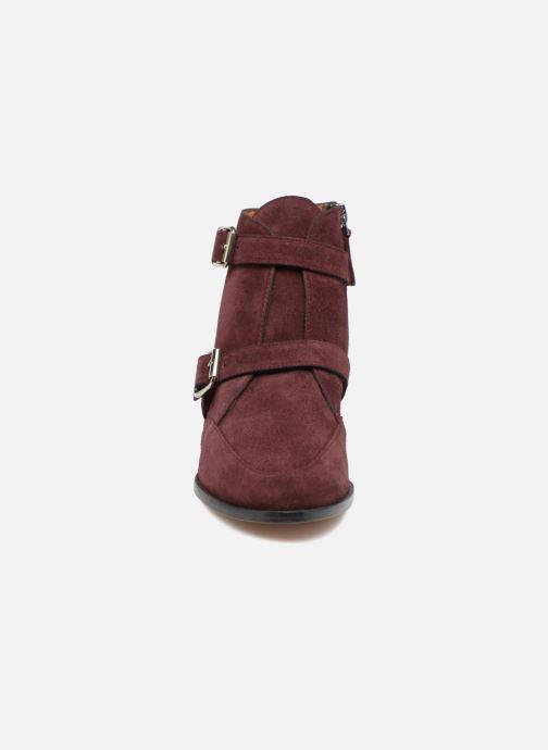 Bottines et boots Emma Go MERCURY Bordeaux vue portées chaussures