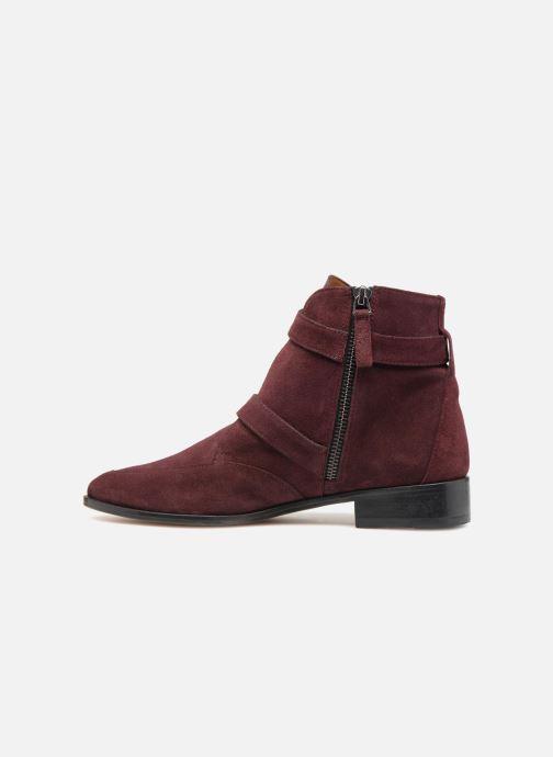 Boots en enkellaarsjes Emma Go MERCURY Bordeaux voorkant