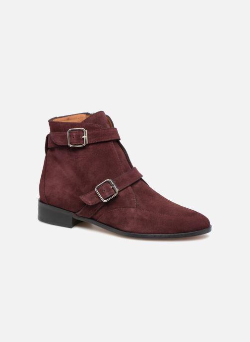 Boots en enkellaarsjes Emma Go MERCURY Bordeaux detail