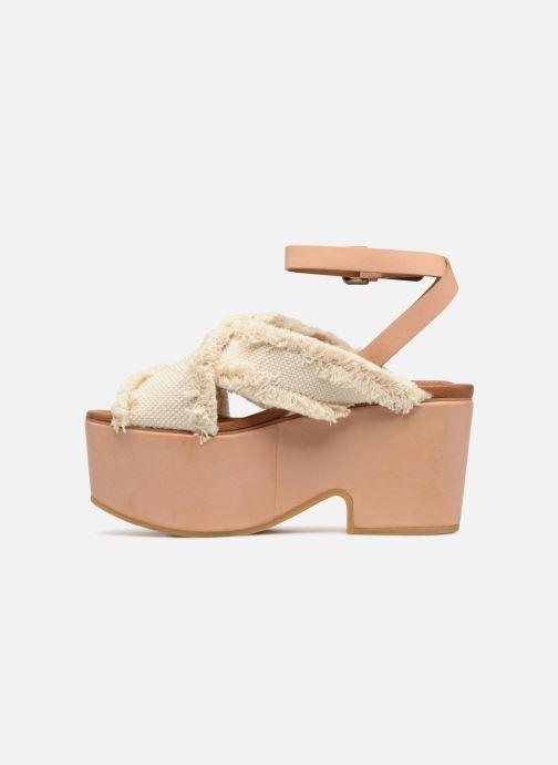 Sandales et nu-pieds See by Chloé SB28092 Blanc vue face