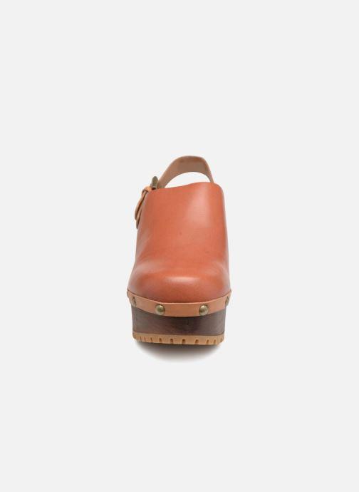 Mules et sabots See by Chloé SB29082 Marron vue portées chaussures