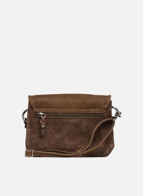 Handtaschen Mila Louise 3272CR-47 braun ansicht von vorne