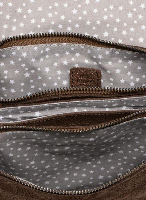 Handtaschen Mila Louise 3272CR-47 braun ansicht von hinten